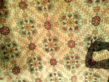 Antika koyun yünü kök boyalı halı