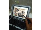 Hp tc1100 çizim tasarım laptop